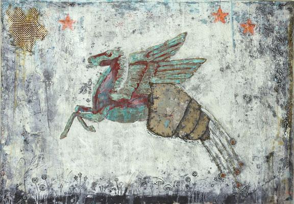"""The Moment"", 150 x 105 cm auf Leinwand"