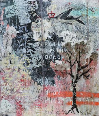 """""""Six days in Amsterdam"""", 30 x 35 cm auf Leinwand"""