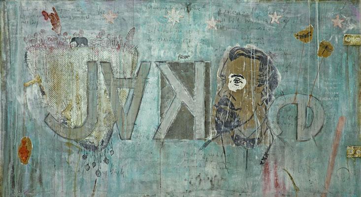 """""""Jake"""", 200 x 110 cm auf Leinwand"""