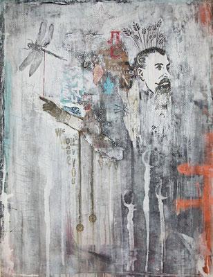 """The Gift"", 95 x 125 cm auf Leinwand"