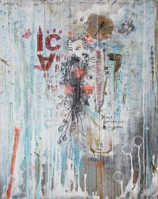 """""""Zurück auf Anfang"""", 95 x 125 cm auf Leinwand"""