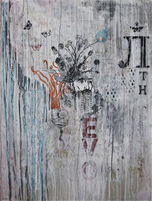 """End of Springtime"", 95 x 125 cm auf Leinwand"
