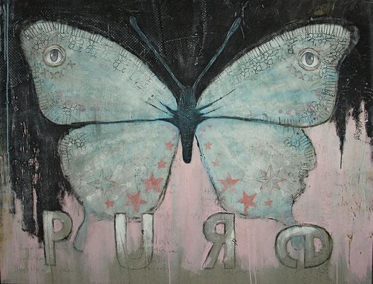 """Pure"", 140 x 110 cm auf Leinwand"