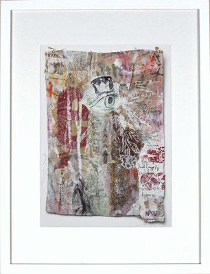 """""""The one-eyed King"""", ca. 19 x 27 cm auf Leinwand"""