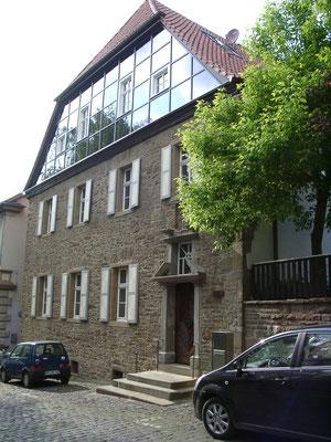 Ansicht von 2010 nach der Renovierung im Jahr 2006 durch Peter Hoppe