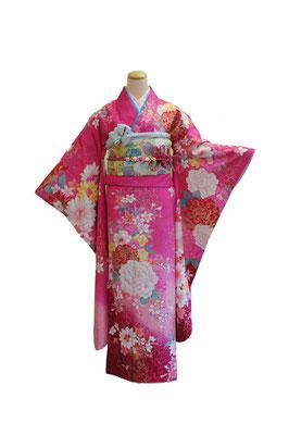 ふんわりかわいいピンクでかわいいハタチ フルセット16万
