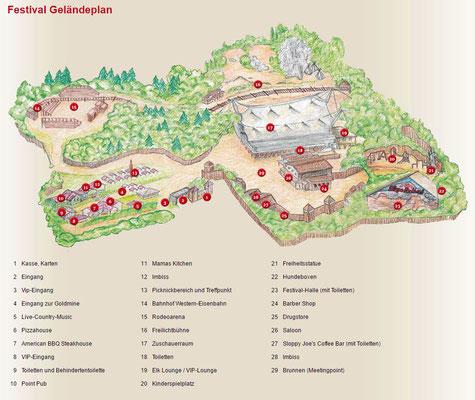 04.09. Fahrt ins Blaue - das große Karl-May-Festival-Gelände