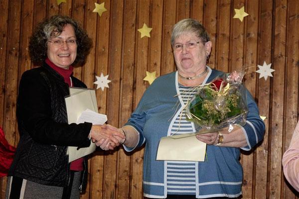 Gratulation an Adelheid Wittlich zu 50 Jahren LandFrau