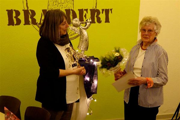 Hanni Kortschick 60 Jahre LandFrau in Breithardt