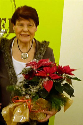 Gratulation von Trude Emich zum 75zigsten