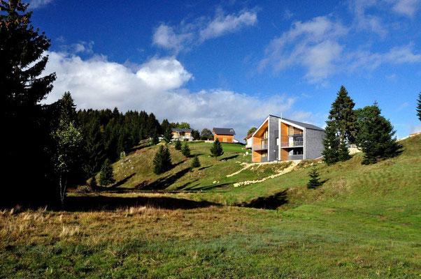 Paysage d'été- Chambres d'hôtes, chalets d'hôtes, suites familiales, Haut Jura