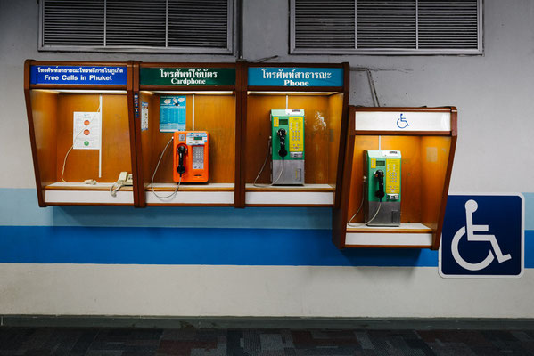 Payphone's at Airport Phuket