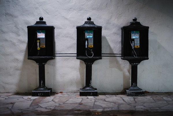 Payphones in Waikiki, Honolulu, Oahu, Hawaii