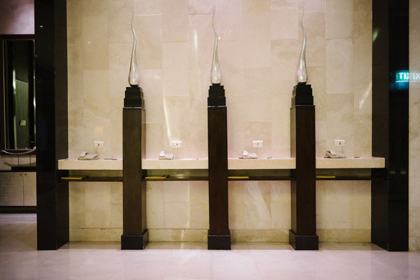 Lobby phones at Grand Millennium Sukhumvit, Bangkok