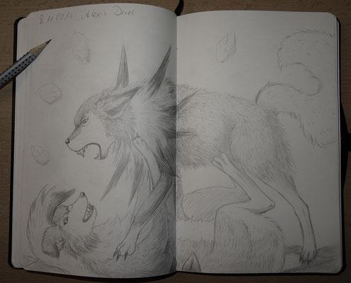 Skizzenbuch: 31. Skizze Wolwerock