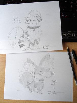 Fukano und Fynx