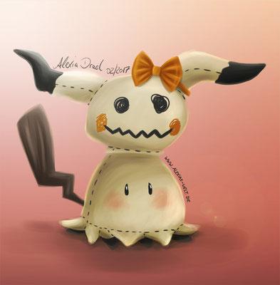 Mimigma, Pokémon-Fanart