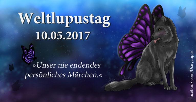 Weltlupustag 10.05.2017, Facebook-Banner für LupuxDiary