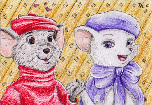 25. Maxikarte - Bernard & Bianca