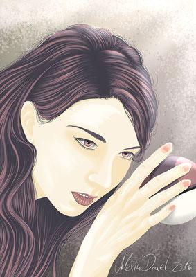 """Louna Lavie von meiner Geschichte """"Feurige Leidenschaft"""""""