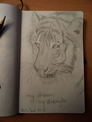 Skizzenbuch: 5. Skizze Tiger FINAL