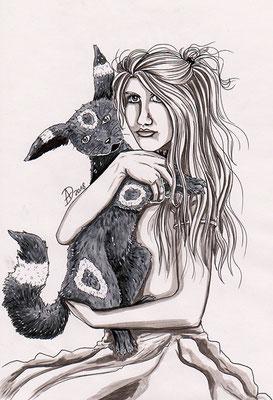 Louna mit Nero
