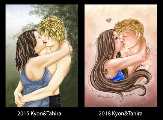 Redraw 2015->2018 Kyon&Tahira