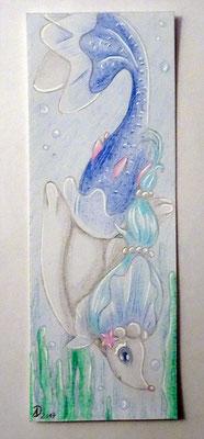 02. Lesezeichen Primarene 6,5 x 18 cm - Getauscht