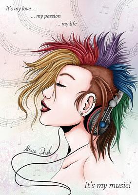 "DJ: ""Feel the music!"""