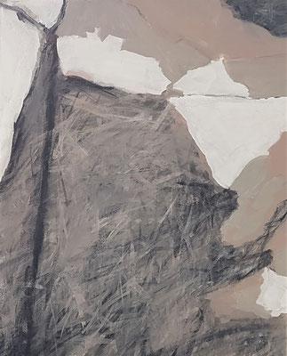Wasserwerke - innen & außen V/2, 2021, Acryl auf Leinwand, 50 x 40 cm