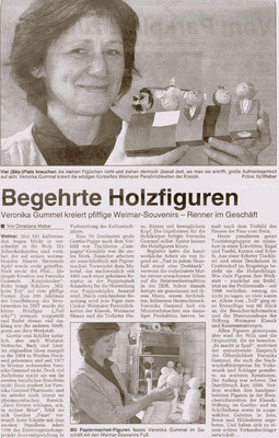 """Artikel """" Begehrte Holzfiguren"""""""