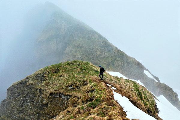Aufstieg zum Hirschkopf