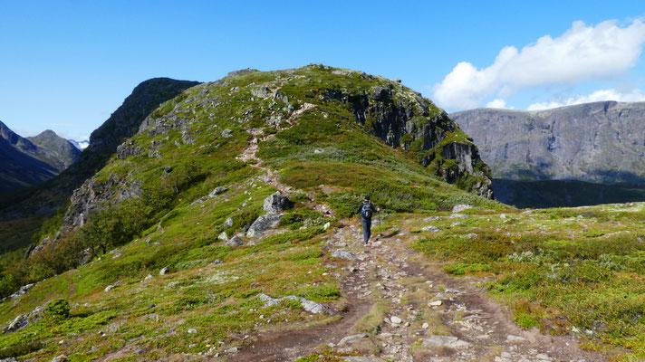 Knutshøe Wanderung