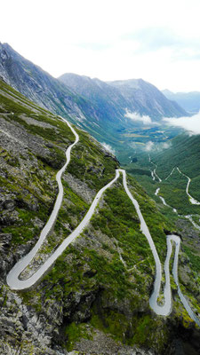 Roadtrip Norwegen Trollstigen