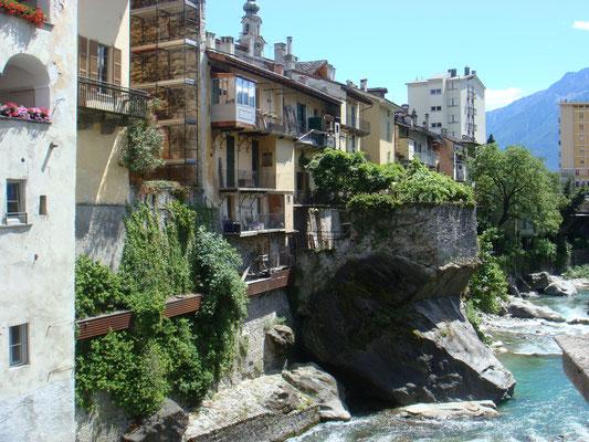 Ausflug am schulfreien Nachmittag nach Chiavenna