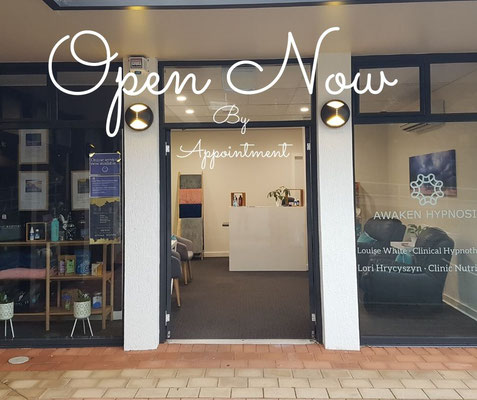 Hypnosis in Launceston, open once more.