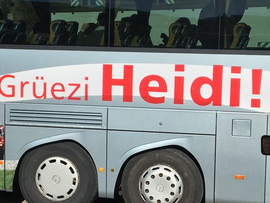 """Grüezi wohl, Frau Stirnimaa .... sorry """"Heidi"""" - Schwizern gefällts auch in Tirol"""