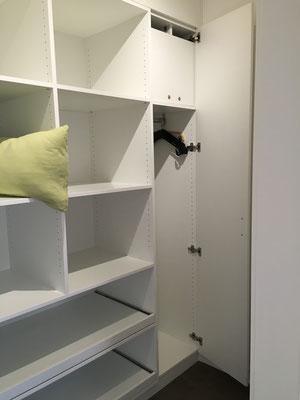 Abstellraum / Begehbarer Kleiderschrank