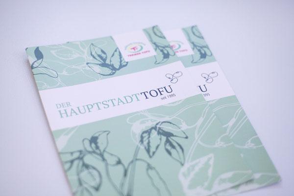 Portfolio Dorina Rundel - Grafikdesignerin: Treiber Tofu – Flyer