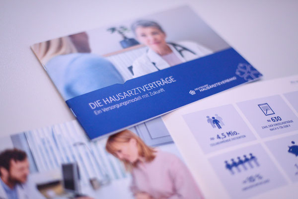 Portfolio Dorina Rundel - Grafikdesignerin: Deutscher Hausärzteverband – Flyer
