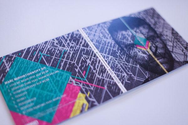 Portfolio Dorina Rundel - Grafikdesignerin: PASO – Marc Miroir – Album Identity Kit