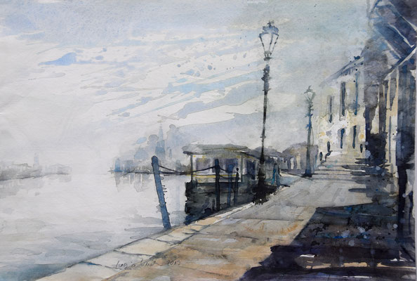 Regina Wuschek, Venedig, Aquarell