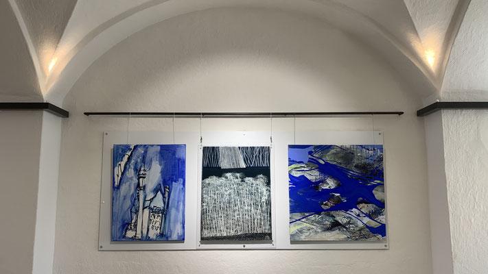 Ausstellung im Foyer im Rathaus in Murnau