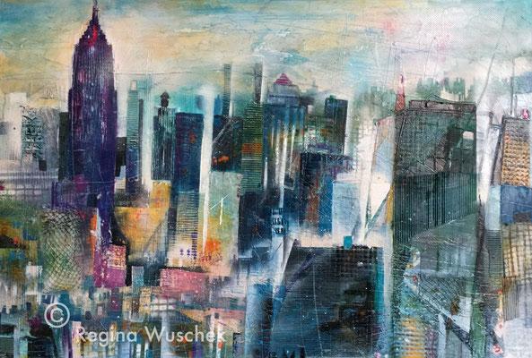 NY, Regina Wuschek, 80x120x2