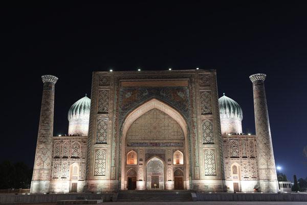 Der Registan-Palast in Samarkand - Usbekistan ein Wahrzeichen der islamischen Architektur