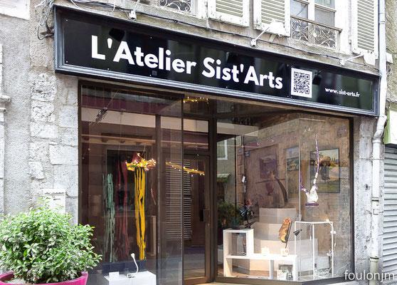 Sist'Arts l'Atelier - Nouvelle enseigne