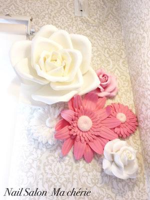 ~お花を見ながら女子力を高める~