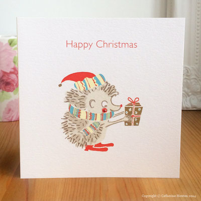 19. Hedgehog Christmas from the Story Book range with gem