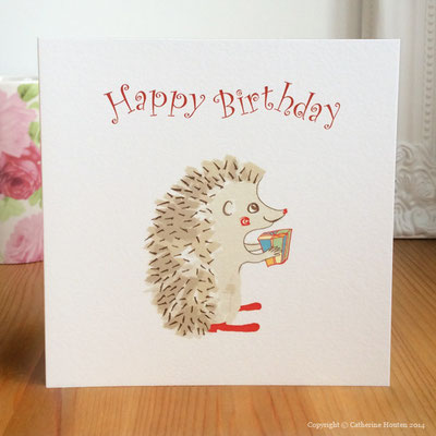 18. Hedgehog Present from the Story Book range