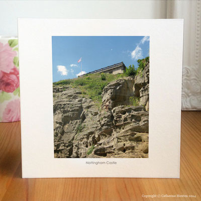 66. Nottingham Castle Photo Card